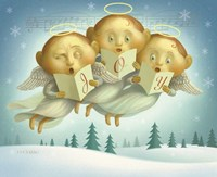 Angel Choir Fine Art Print