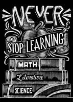 Never Stop Learning Fine Art Print