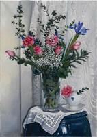 Le Rose di Laura Fine Art Print