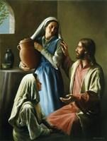 Mary And Martha Fine Art Print