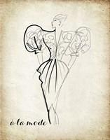 Couture Concepts I Fine Art Print