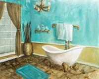Golden Throne Room II Fine Art Print