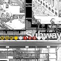 Subway Square Fine Art Print