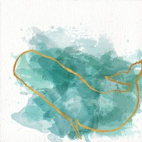 Watercolor Sealife II Fine Art Print