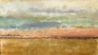 Sunset In The Cornfield Fine Art Print
