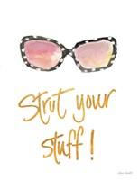 Inspired Sunglasses II Fine Art Print