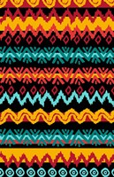 Navajo Mission Teal Fine Art Print