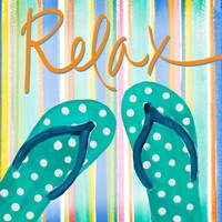 Flip Flop Retreat III Fine Art Print