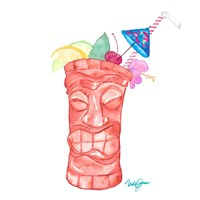 Tiki Bar Tonics I Fine Art Print