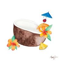 Tiki Bar Tonics II Fine Art Print