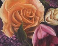 Among the Roses Fine Art Print