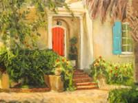 Front Garden Tuscan Dreams I Fine Art Print