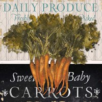 Vegetable Farm Fresh II Fine Art Print