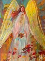Harvest Autumn Angel Fine Art Print