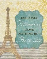Take Only Memories Fine Art Print