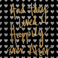 Happily Ever After Pattern Fine Art Print