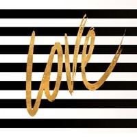 Valentines Stripes IV Fine Art Print
