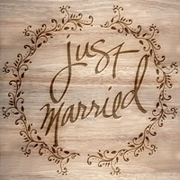 Just Married Fine Art Print