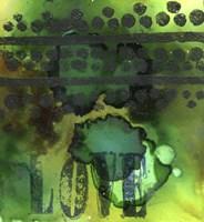 Texture - Love Green Fine Art Print