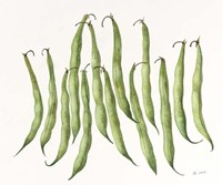 Dancing Beans Fine Art Print