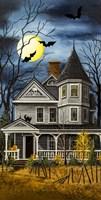 Skull House 2 Fine Art Print