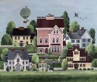 Pink Mansion Fine Art Print
