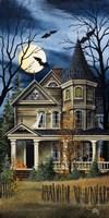 Spooky Yellow House Fine Art Print