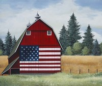 Americana Barn Fine Art Print
