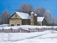 Bright Winter's Day Fine Art Print