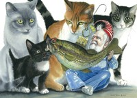 Catatomic Fine Art Print