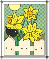 Daffodils With Kernel 4 Fine Art Print