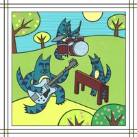 Max Cat Band 1 Fine Art Print