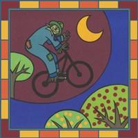 Stitch The Scarecrow Bike 3 Fine Art Print