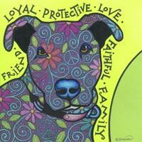 Pit Bull I Fine Art Print