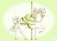 Carousel Green Fine Art Print