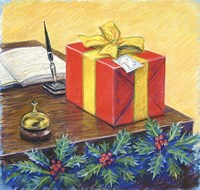 A Christmas Package Fine Art Print