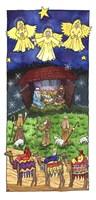 Christmas Threes Fine Art Print