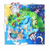 Fantasy World Fine Art Print