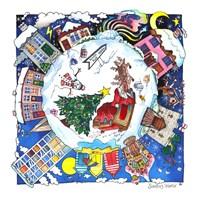 Santa's World Fine Art Print