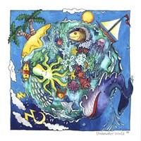 Underwater World Fine Art Print
