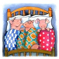 Pigs In Blankets Fine Art Print