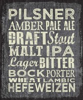 Beer Sign II Fine Art Print