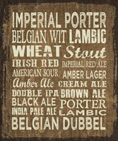 Craft Beer Sign II Fine Art Print