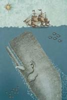 Whate and Ship 2 Fine Art Print