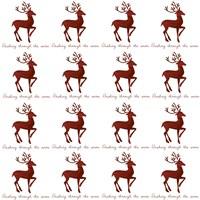 Reindeer Wrap Fine Art Print
