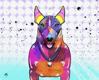 Bull Terrier XI Fine Art Print