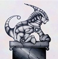 Lion Gargoyle XVI Fine Art Print