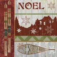 Lodge Greetings Noel Fine Art Print