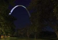 Arch In The Park Fine Art Print