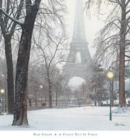 A Foggy Day in Paris Fine Art Print